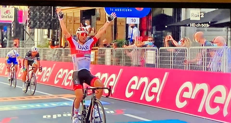 Il Giro d'Italia ad Agrigento