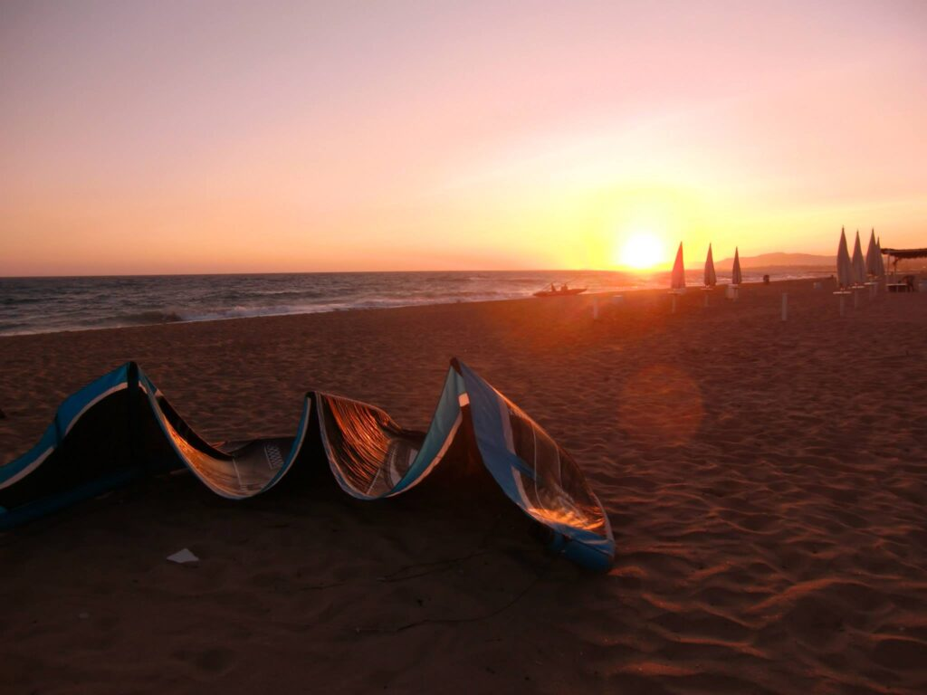 kitsurf a San Leone