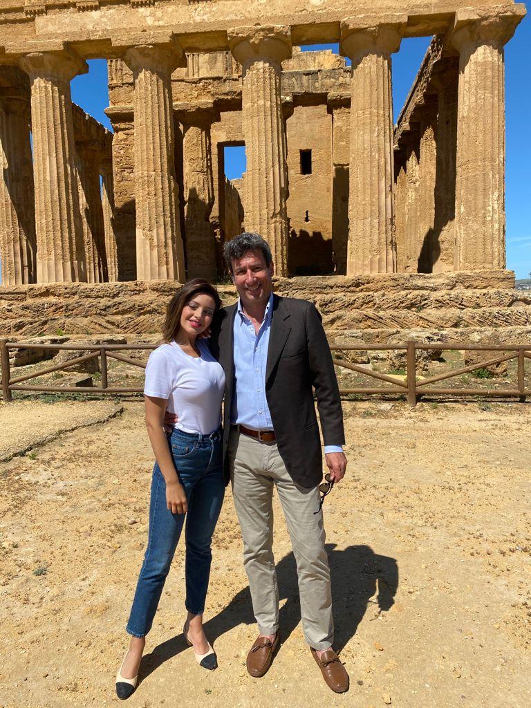 Ciak si gira, la Valle dei Templi è set di un film di Francesco Bellomo con Paolo Calissano e Martina Difonte