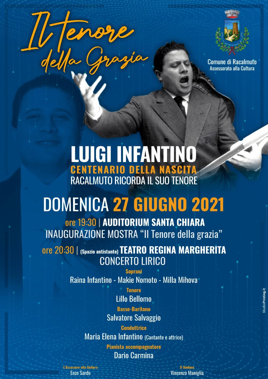 Luigi Infantino, il tenore della grazia