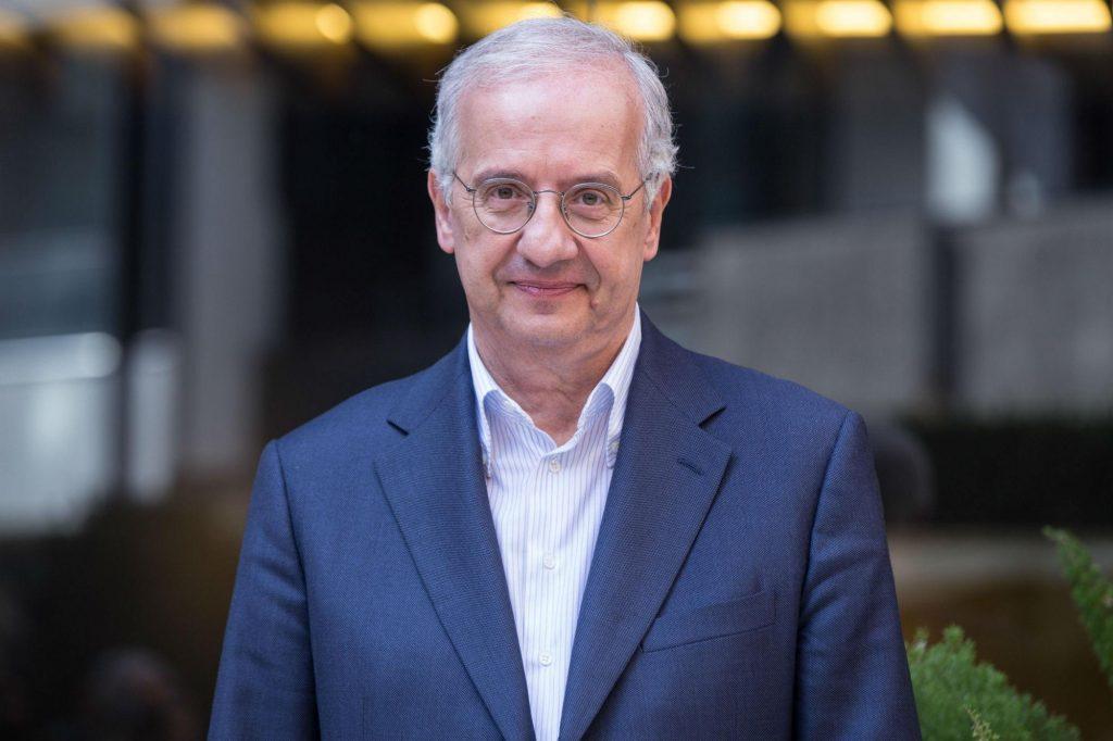 Il regista, scrittore e ex sindaco di Roma Walter Veltroni, foto a mezzo busto