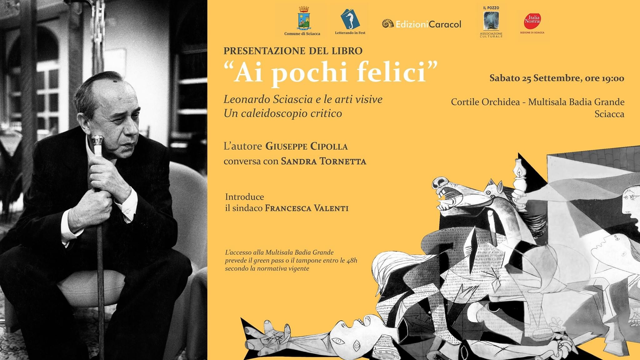 ''Ai pochi felici'' Leonardo Sciascia e le arti visive